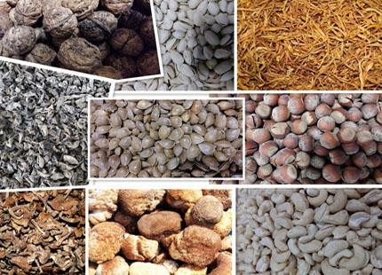 21世纪养生佳品坚果、野生蘑菇木耳各种山货